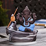 Thailand Ganesha Auspicious Backflow Censer Vase Incense Burner Aromatherapy Incense Holder Home Office