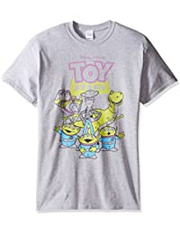 Disney Men's Toy Story Outlined Characters T-Shirt