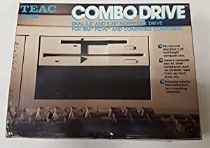 "TEAC FD-505 19307571-02 3.5"" 1.44 MB / 5.25"" 1.2 MB DUAL COMBO FLOPPY DRIVE"