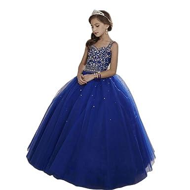 Amazon Luolandi Flower Girl Pageant Dress Kids Formal Ball Gown