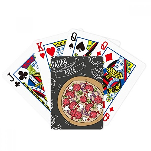 Italy Customs Resident Diet Pattern Poker Playing Cards Tabletop Game Gift by beatChong