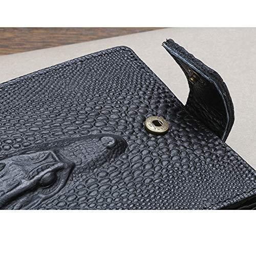 Top Luxe Hommes Sacs Portefeuilles Pour En Homme À Mode Bourse Black Horse Cuir Crazy Qualité Argent Crocodile Marque De Traioy Portefeuille Main UwCYqvxO