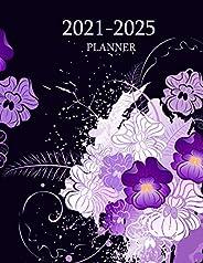 2021-2025 Planner: 5 Years 60 Months Yearly Planner Monthly Calendar and Organizer. Agenda Schedule Organizer