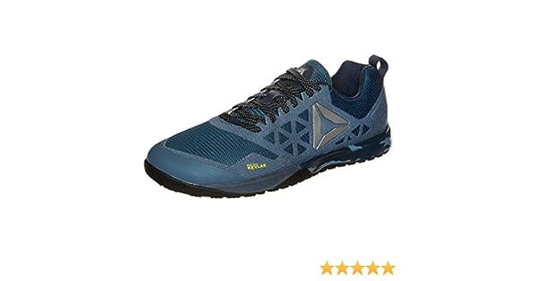 Reebok Hombre R Crossfit Nano 6.0 Sport Guantes, Azul y Negro, 6.5 US - 38.5 EU: Amazon.es: Deportes y aire libre