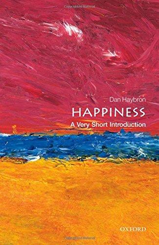 Happiness: A Very Short Introduction (Very Short Introductions) [Daniel M. Haybron] (Tapa Blanda)