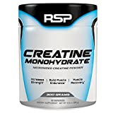 RSP Creatine Monohydrate – Pure Micronized Creatine Powder Supplement for Increased Strength, Muscle Recovery, and Performance for Men & Women, Unflavored (300 Grams) For Sale