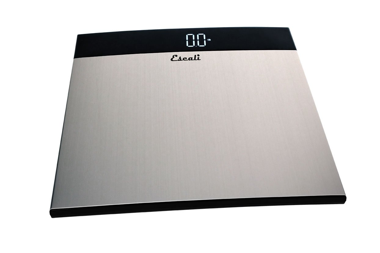 Amazon.com: Escali S200 Extra Large Stainless Steel Bathroom Scale ...