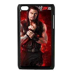 iPod Touch 4 Phone Case Black WWE ES7TY7901984