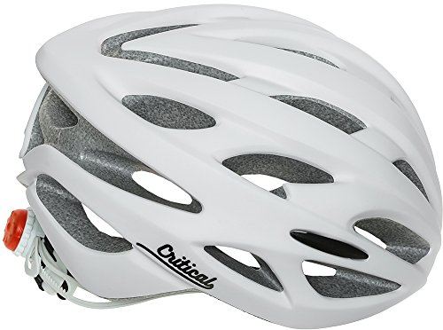 Critical Cycles Silas Bike Helmet with 24 Vents, Matte White, Unisex Adult One Size
