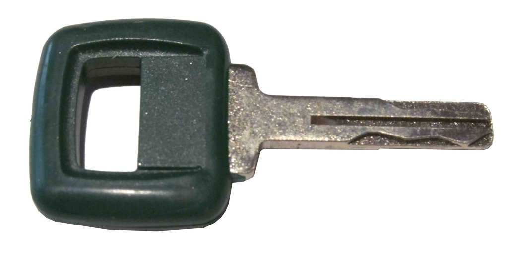 Laser Cut Ignition key for Volvo, Clark-Michigan, Part Number 11039228