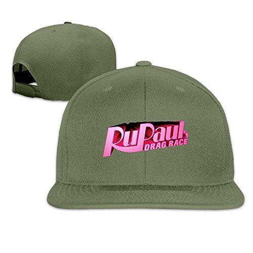 Cool RuPaul's Drag Race Adjustable Baseball Cap (8 Colors) ForestGreen