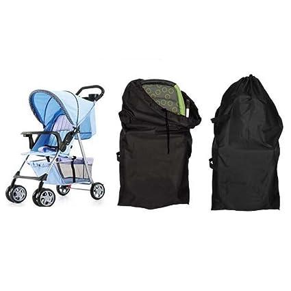 ivebetter bolsa de viaje para estándar y doble de carritos de bebé (117 x 53