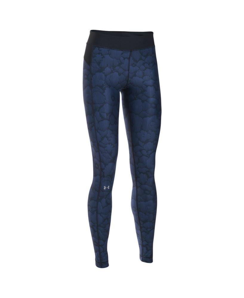 Under Armour Women's HG Armour Printed Leggings Black 2 X-Small 29 29