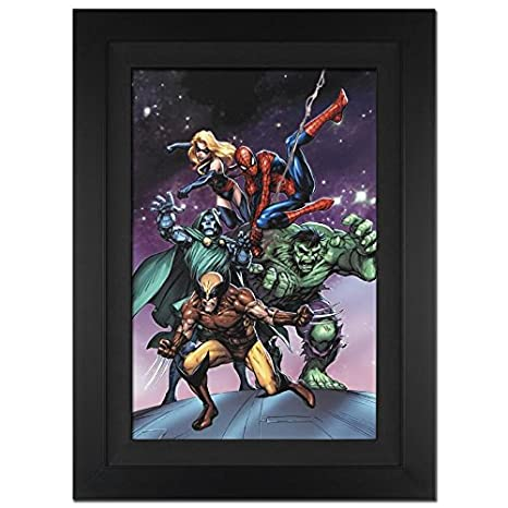 Stan Lee Signed MARVEL Limited Edition Canvas out of 10 ...
