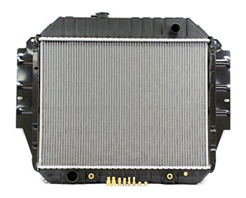 Radiator - Pacific Best Inc For/Fit 1456 92-96 Ford Econoline Van V8 5.0/5.8L PTAC ()
