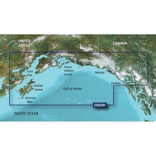 Garmin Charts Garmin Vus025r Anchorage To Juneau Bluechart G2 - Anchorage Shopping