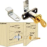 Platte River 939245, Hardware, Locks And Latches, Cylinder Locks, Adjustable Thickness Cam Lock