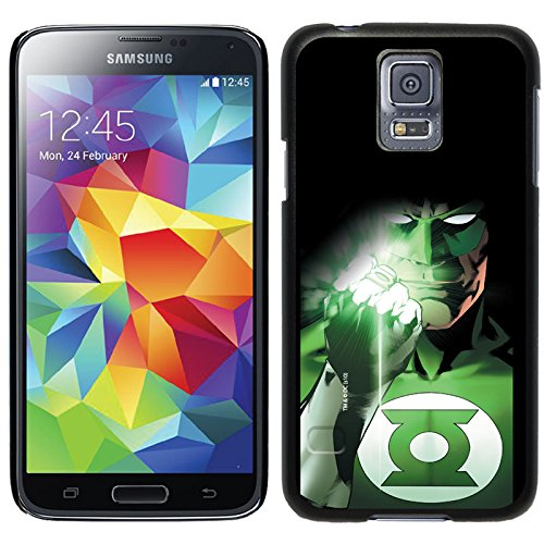 Coveroo Thinshield Cell Phone Case for Samsung Galaxy S5 - Green Lantern Shining Ring (Galaxy Case Green Lantern S5)