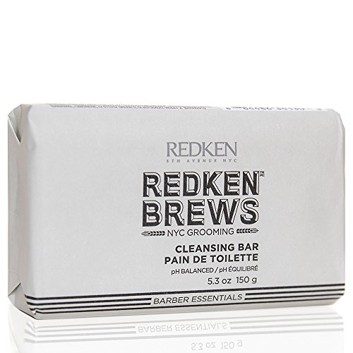 Redken Brews Cleansing Bar for Men, 5 Ounce by REDKEN