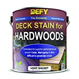 Defy Deck Stain for Hardwoods Light Walnut 1 Gallon