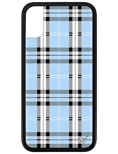 best sneakers 9bb14 bd86c Wildflower Limited Edition iPhone Case for iPhone X and XS (Blue Plaid)