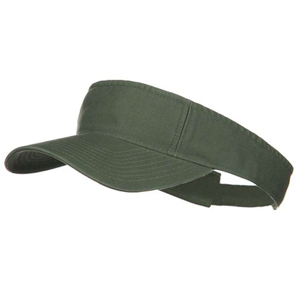 MG Pro Style Cotton Twill Washed Visor e4Hats.com