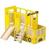 Guidecraft School Bus Vehicle Playtime Loft