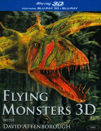 Flying Monsters 3D (Blu-ray) [UK Import] [Region Free] [1080i]