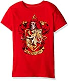 Harry Potter Big Girls' Short Sleeve T-Shirt Shirt, Classic Red, Medium