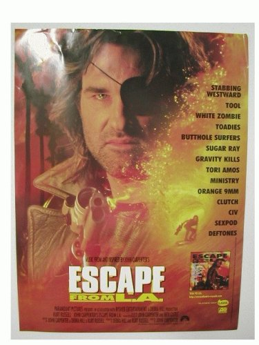 Escape From La Poster Kurt Russell L.A