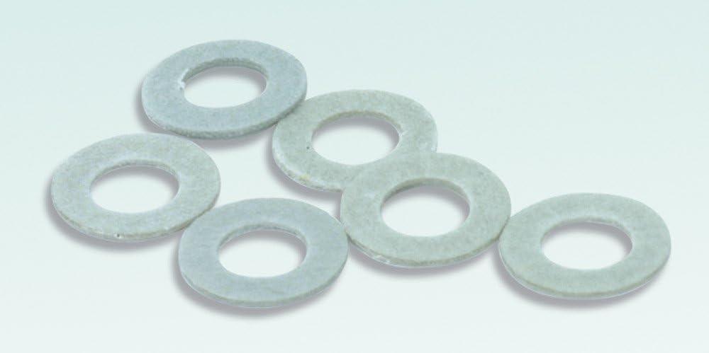 Peco R-8 Washers 00//6 Fibre 1.575mm dia Hole
