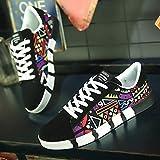 Behkiuoda Men Sport Running Shoes Lace-Up