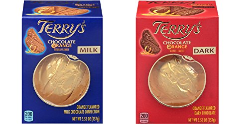 Terry's Milk and Dark Chocolate Oranges 2 pack (5.53 oz each)