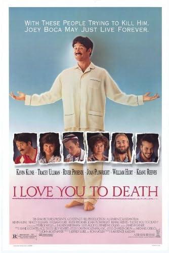 I Love You to Death Póster de película 11 x 17 - 28 cm x 44 ...