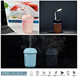 Ultrasonic Cool Mist Humidifier with Quiet USB Desk