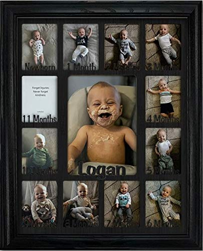 (Northland Baby First Year Personalized Frame - Holds Twelve 2.5
