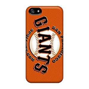 Premium Protection San Francisco Giants Cases Covers For Iphone 5/5s- Retail Packaging