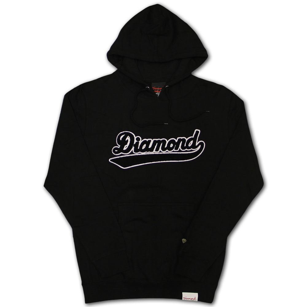 Diamond Supply Co. Diamond League Hoodie schwarz