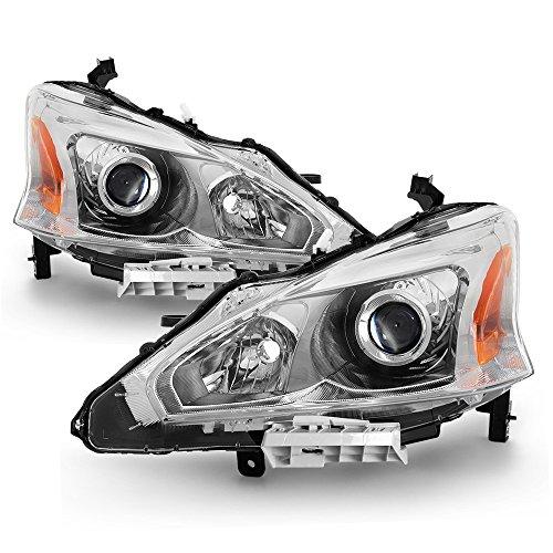 ACANII - For 2013 2014 2015 Altima Sedan Projector Headlights Headlamps 13-15 Driver + Passenger Side