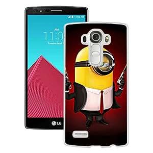 Popular Sell Hitman Minion White Case For LG G4 Phone Case Cool Design