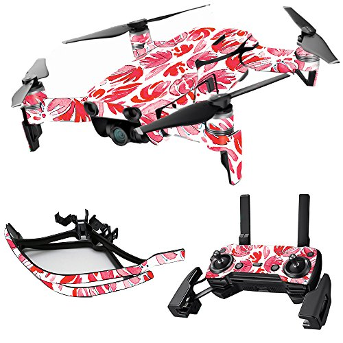 Cheap MightySkins Skin for DJI Mavic Air Drone – Red Petals | Max Combo | Protective, Durable, and Unique Vinyl Decal wrap Cover | Easy to Apply, Remove, and Change Styles | Made in The USA