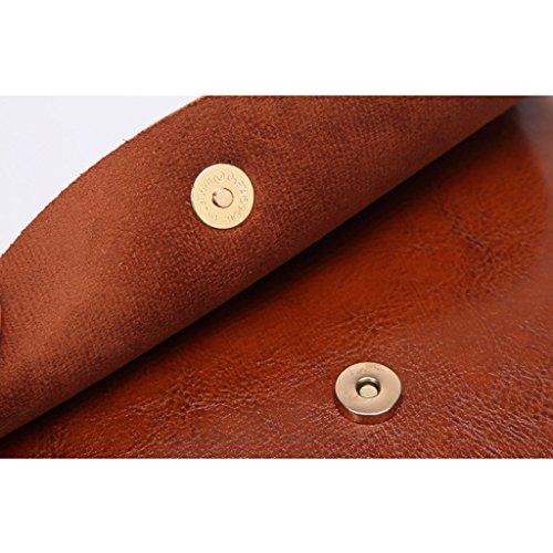 For Tassel leather Wanfor Shoulder Messenger Girl Boho Black Bag Crossbody Women Tote 87A7xX