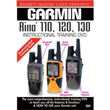 DVD Garmin Rino GPS 110, 120, 130 Instructional Training DVD ()
