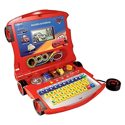 Amazon Com Vtech Cars Lightning Mcqueen Learning Laptop Toys Games