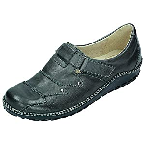 Miccos Shoes womens Velcro shoeVelcro shoe anthracite size 40.0 EU