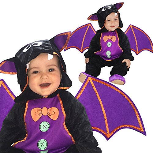 [Toddlers Vampire Bat Bloodsucker Costume 12 - 24 Months Costume] (Toddler Vampire Halloween Costumes)