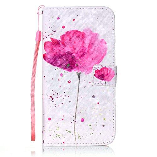 iPhone-7-Plus-Flip-Cases-7-Plus-Wallet-Case-iPhone-7-Plus-Case-JanCalm-Wrist-Strap-Premium-PU-Leather-Multi-CardCash-Slots-STAND-Flip-Cover-Crystal-pen