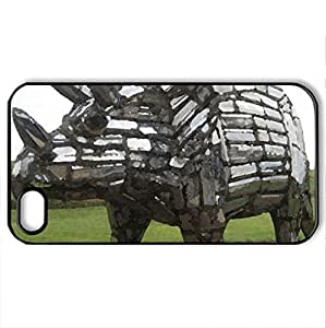 Ripley's Believe it Or Not - Case Cover for iPhone 4 and 4s (Modern Series, Watercolor style, Black)