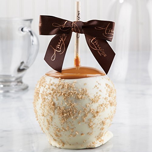 Chocolate Gourmet Apples (Apple Pie Dunked Caramel Apple w/ White Belgian Chocolate)