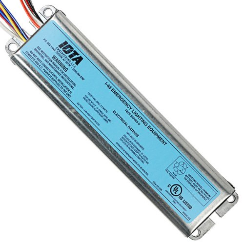 Iota I-48 - Emergency Backup Battery - 90 min. - Operates Most 2 ft. - 8 ft. single, Bi-Pin, T8 and T12, HO or VHO and long compact lamps - 120/277 Volt